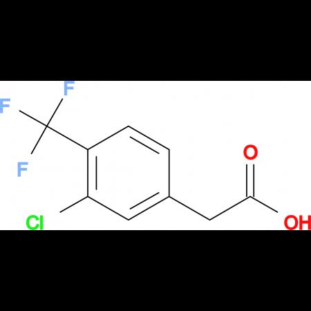 3-Chloro-4-(trifluoromethyl)phenylacetic acid