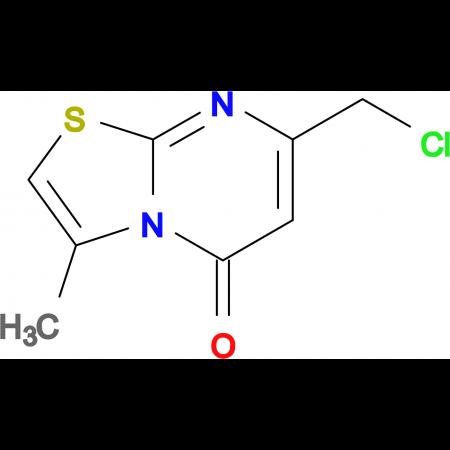 7-(chloromethyl)-3-methyl-5H-[1,3]thiazolo[3,2-a]pyrimidin-5-one