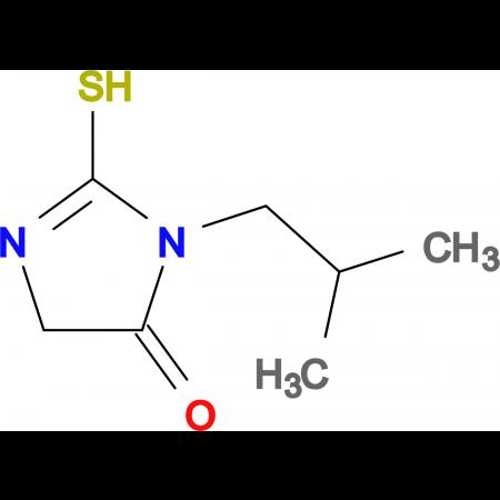 3-isobutyl-2-mercapto-3,5-dihydro-4H-imidazol-4-one