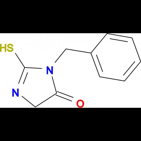 3-benzyl-2-mercapto-3,5-dihydro-4H-imidazol-4-one
