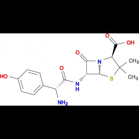 (2S,5R,6R)-6-[(2R)-2-amino-2-(4-hydroxyphenyl)acetamido]-3,3-dimethyl-7-oxo-4-thia-1-azabicyclo[3.2.0]heptane-2-carboxylic acid