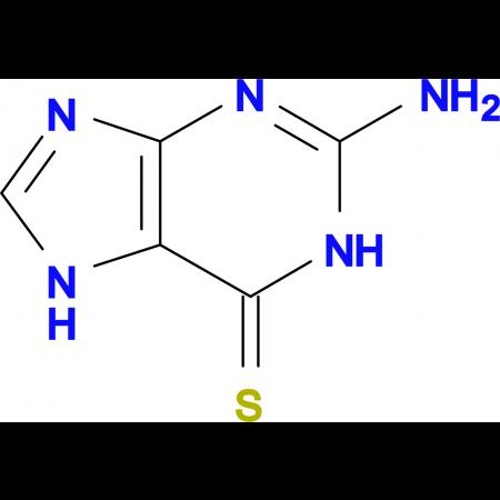 2-Amino-1,7-dihydro-6H-purine-6-thione
