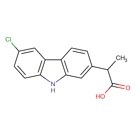 2-(6-chloro-9H-carbazol-2-yl)propanoic acid