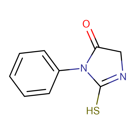 2-mercapto-3-phenyl-3,5-dihydro-4H-imidazol-4-one