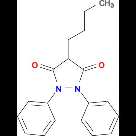 4-butyl-1,2-diphenylpyrazolidine-3,5-dione