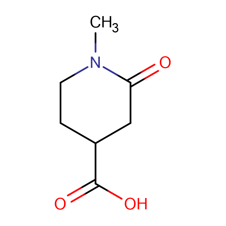 1-methyl-2-oxopiperidine-4-carboxylic acid