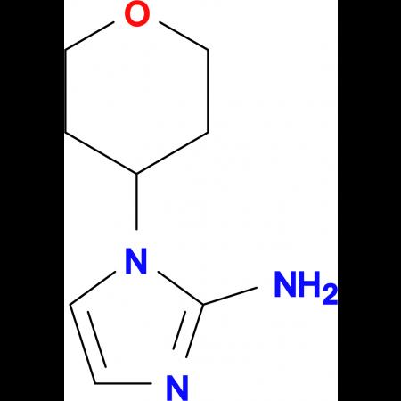 1-(Tetrahydro-2H-pyran-4-yl)-1H-imidazol-2-amine