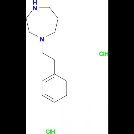 1-(2-phenylethyl)-1,4-diazepane dihydrochloride