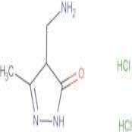 4-(aminomethyl)-5-methyl-2,4-dihydro-3H-pyrazol-3-one dihydrochloride