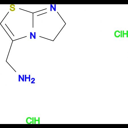 (5,6-dihydroimidazo[2,1-b][1,3]thiazol-3-ylmethyl)amine dihydrochloride
