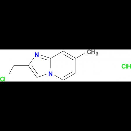 2-(chloromethyl)-7-methylimidazo[1,2-a]pyridine hydrochloride