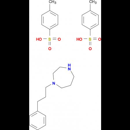 1-(3-phenylpropyl)-1,4-diazepane bis(4-methylbenzenesulfonate)