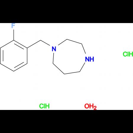 1-(2-fluorobenzyl)-1,4-diazepane dihydrochloride hydrate