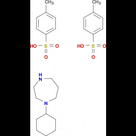 1-cyclohexyl-1,4-diazepane bis(4-methylbenzenesulfonate)