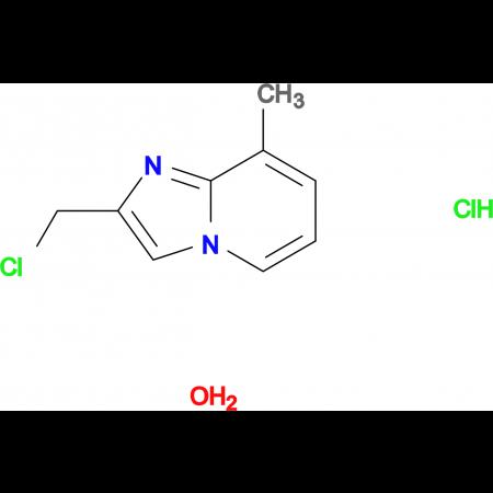 2-(chloromethyl)-8-methylimidazo[1,2-a]pyridine hydrochloride hydrate