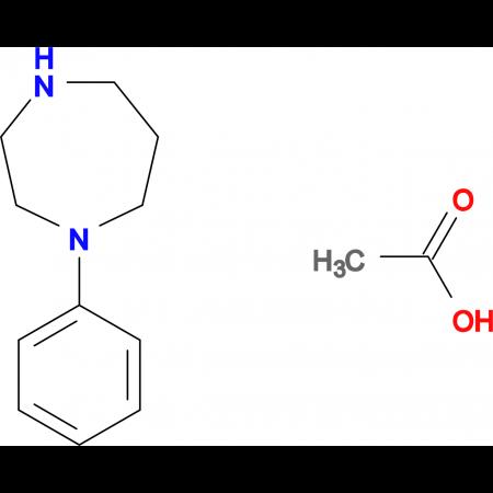 1-phenyl-1,4-diazepane acetate