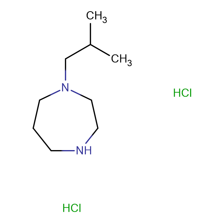 1-isobutyl-1,4-diazepane dihydrochloride