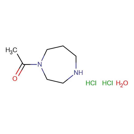 1-acetyl-1,4-diazepane dihydrochloride hydrate