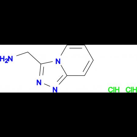 ([1,2,4]triazolo[4,3-a]pyridin-3-ylmethyl)amine dihydrochloride