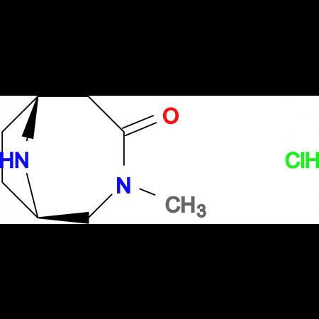 (1S,6R)-3-methyl-3,9-diazabicyclo[4.2.1]nonan-4-one hydrochloride