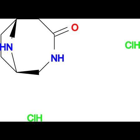 (1S,6R)-3,9-diazabicyclo[4.2.1]nonan-4-one dihydrochloride