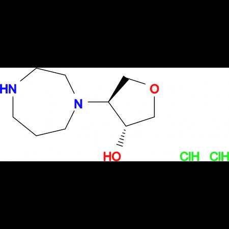 (3R,4S)-4-(1,4-diazepan-1-yl)tetrahydro-3-furanol dihydrochloride