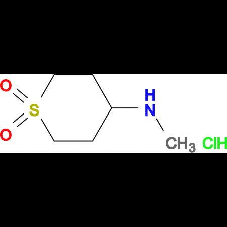 N-methyltetrahydro-2H-thiopyran-4-amine 1,1-dioxide hydrochloride