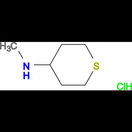 N-methyltetrahydro-2H-thiopyran-4-amine hydrochloride