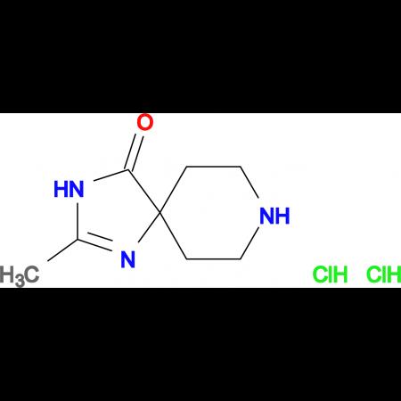 2-methyl-1,3,8-triazaspiro[4.5]dec-1-en-4-one dihydrochloride