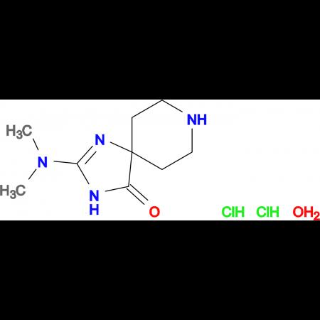 2-(dimethylamino)-1,3,8-triazaspiro[4.5]dec-1-en-4-one dihydrochloride hydrate