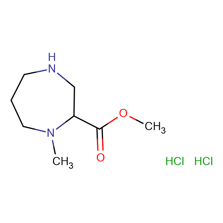 methyl 1-methyl-1,4-diazepane-2-carboxylate dihydrochloride