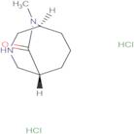 (1S,5R)-9-methyl-3,9-diazabicyclo[3.3.2]decan-10-one dihydrochloride