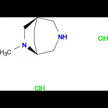 (1R,5S)-6-methyl-3,6-diazabicyclo[3.2.2]nonane dihydrochloride