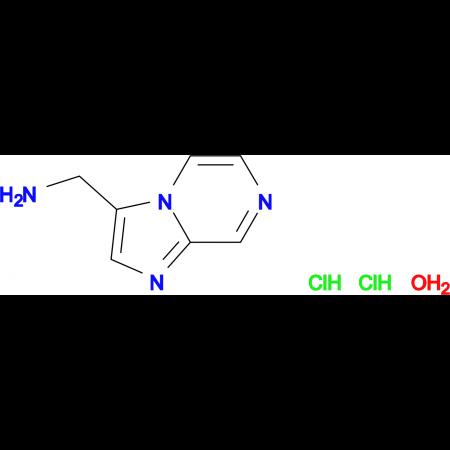 (imidazo[1,2-a]pyrazin-3-ylmethyl)amine dihydrochloride hydrate