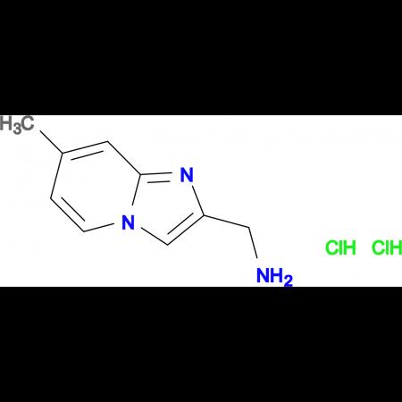 [(7-methylimidazo[1,2-a]pyridin-2-yl)methyl]amine dihydrochloride