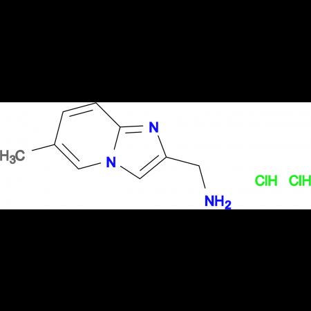[(6-methylimidazo[1,2-a]pyridin-2-yl)methyl]amine dihydrochloride