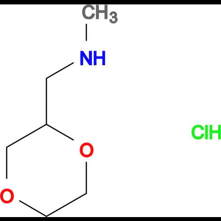 (1,4-dioxan-2-ylmethyl)methylamine hydrochloride