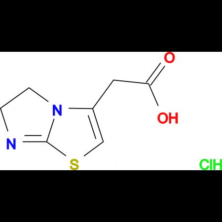 5,6-dihydroimidazo[2,1-b][1,3]thiazol-3-ylacetic acid hydrochloride