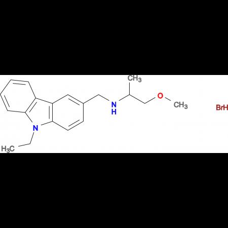 N-[(9-ethyl-9H-carbazol-3-yl)methyl]-1-methoxy-2-propanamine hydrobromide