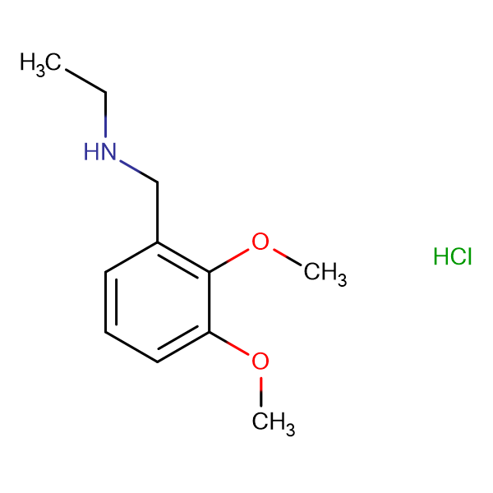 N-(2,3-dimethoxybenzyl)ethanamine hydrochloride