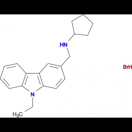 N-[(9-ethyl-9H-carbazol-3-yl)methyl]cyclopentanamine hydrobromide