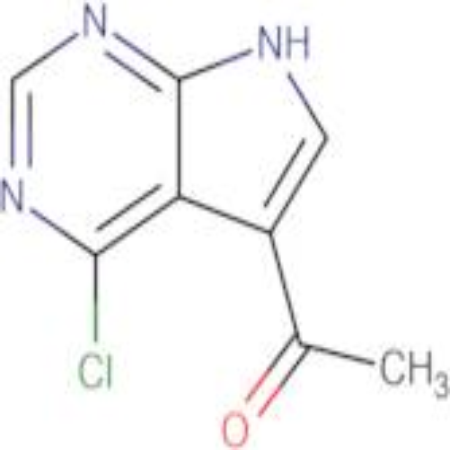 1-(4-Chloro-7H-pyrrolo[2,3-d]pyrimidin-5-yl)ethanone