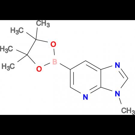 3-Methyl-6-(4,4,5,5-tetramethyl-1,3,2-dioxaborolan-2-yl)-3H-imidazo[4,5-b]pyridine