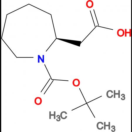 [(2S)-1-(tert-butoxycarbonyl)azepan-2-yl]acetic acid