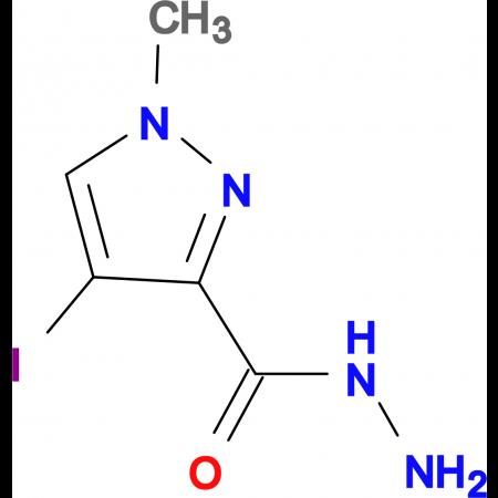 4-iodo-1-methyl-1H-pyrazole-3-carbohydrazide