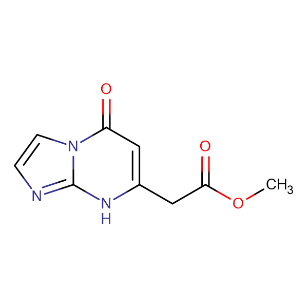 methyl (5-oxo-5,8-dihydroimidazo[1,2-a]pyrimidin-7-yl)acetate