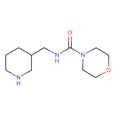 N-(piperidin-3-ylmethyl)morpholine-4-carboxamide