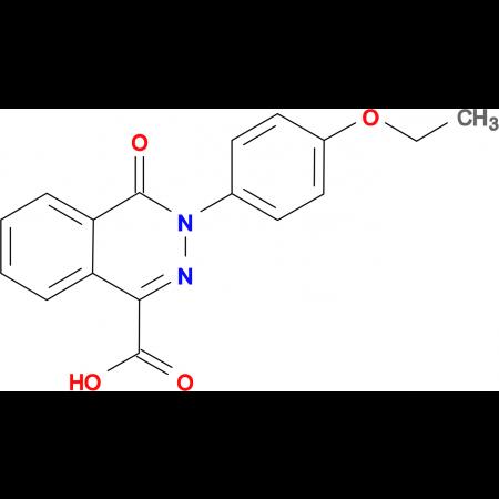 3-(4-ethoxyphenyl)-4-oxo-3,4-dihydrophthalazine-1-carboxylic acid