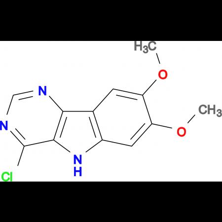 4-chloro-7,8-dimethoxy-5H-pyrimido[5,4-b]indole