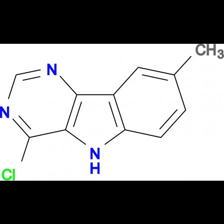 4-chloro-8-methyl-5H-pyrimido[5,4-b]indole